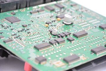 electronic circuit board Wall mural