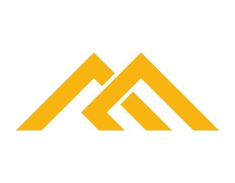 monogram letter ME logo