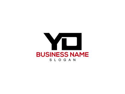 YO Letter Logo, yo logo icon vector for business