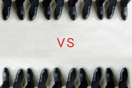 ビジネスイメージ―対立
