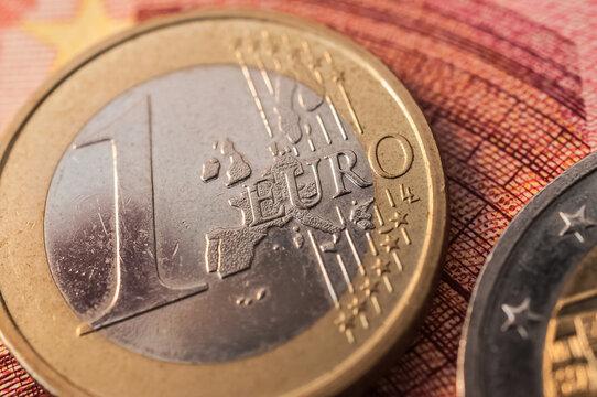 Euromünzen - Eurokrise/Finanzkrise in Europa