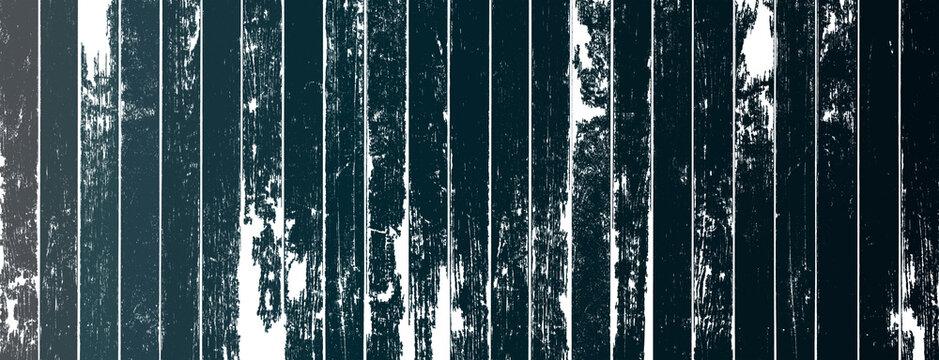 Fond bois vintage peint dégradés de bleu sombre