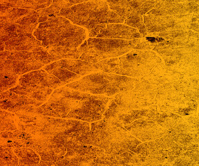 Grunge texture, irregular orange texture, surface