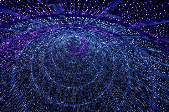 Tunel de luces