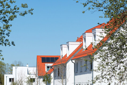 Reihenhaus Siedlung Neubau