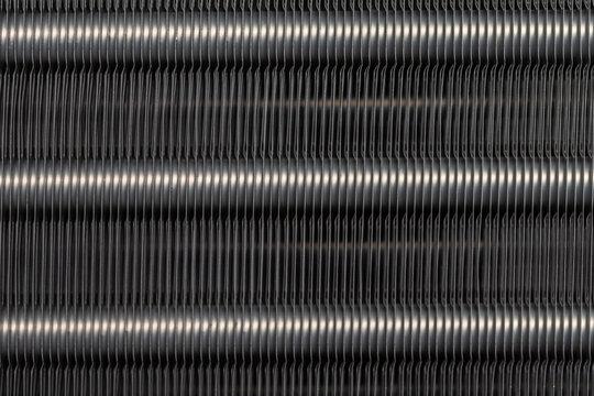 Aluminum fins of condenser for air conditioner