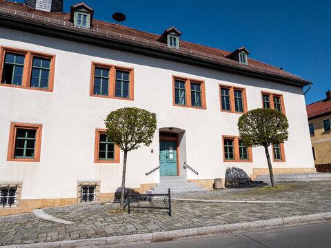 Rathaus von Magdala in Thüringen