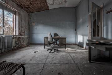 Fototapeta abandoned Boiler Factory - Lost Pla obraz