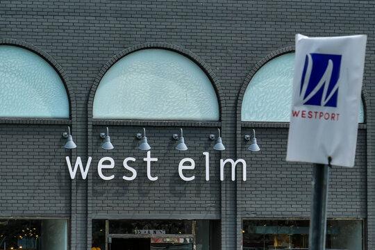 West Elm furniture store sign