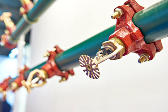 Sprinkler heads sprayers of fire extinguishing systems