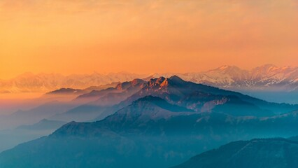Layers of the Himalayas