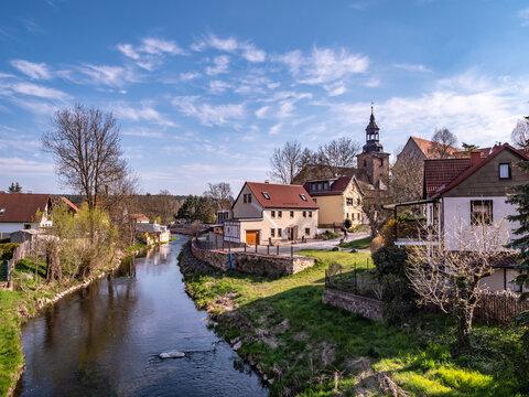 Bad Berka in Thüringen Ostdeutschland