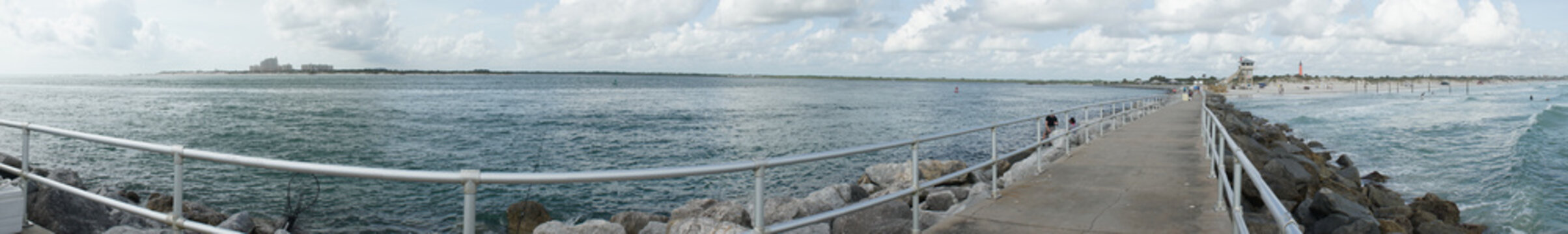 Beautiful beach and the Atlanitic ocean at Ponce Point
