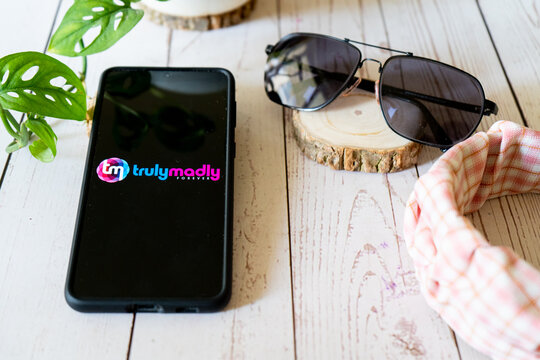 Indian starup unicorn matchmaking app trulymadly which has recently received funding and is helping young singles meet each other online for dating marriage and more