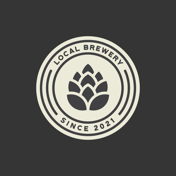local brewery badge logo template