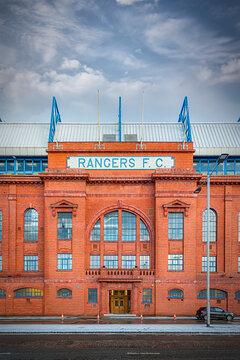 Rangers Ibrox Stadium Front Facade
