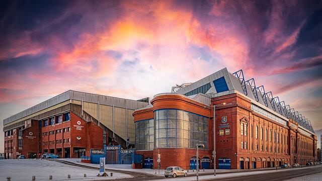 Rangers Ibrox Stadium Panorama