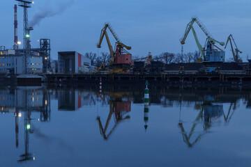 Fototapeta Port Wrocław