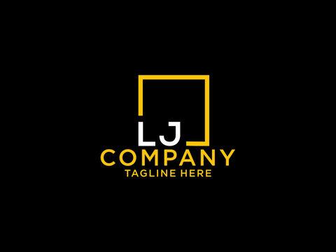 LJ Initial, lj Letter Design For New Business