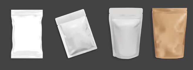 Obraz Flexible and pouch packaging 3D Illustrator - fototapety do salonu