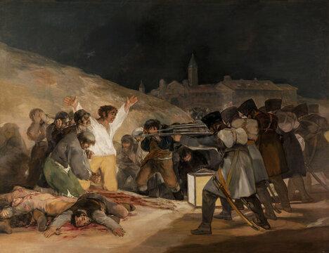 Francisco de Goya, The Third of May 1808, 1814, oil on canvas, Prado Musem, Madrid, Spain