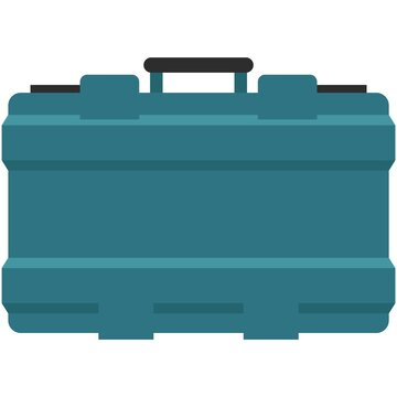 Power tool box vector icon isolated on white