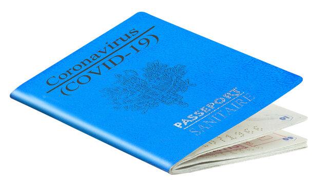 Passeport sanitaire covid-19, certificat de vaccinations