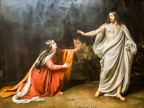 Christ's Appearance to Mary Magdalene after the Resurrection by Alexander Ivanov. State Russian Museum, St. Petersburg, Russia.
