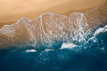 Ocean sea view sandy beach