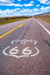 Historic Route 66 highway