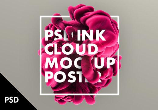 Ink Cloud Text design