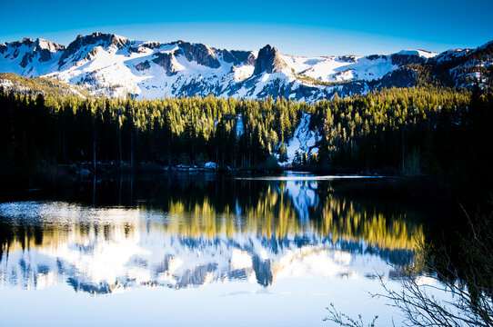The beautiful scenes of Mammoth Lakes, California and surrounding areas.