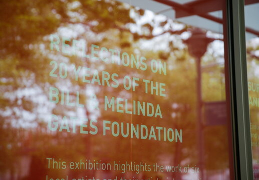 The Bill & Melinda Gates Foundations is pictured in Seattle