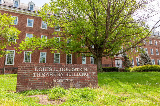 Goldstein building of treasury in Annapolis, named after late politician Louis L. Goldstein who served in many state government offices including being comptroller of Maryland for almost four decades.