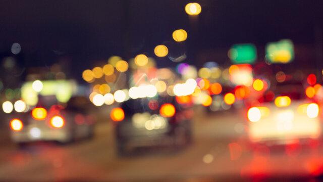 night city street Las Vegas