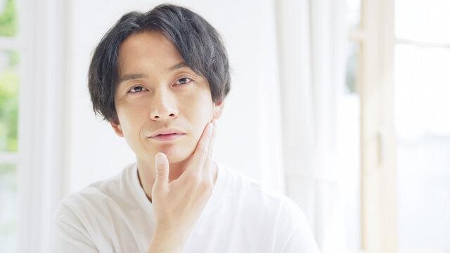 男性の美容イメージ 男性化粧品 メンズビューティー