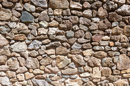 rustic stone wall for texture