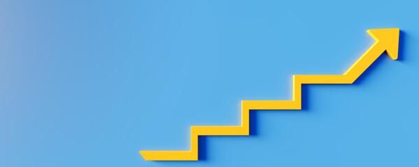 Obraz Business or success concept. Winning situation. Reach goal of success. Achievement concept. Business target. 3D rendering. - fototapety do salonu
