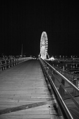Fototapeta Diabelskie koło nocą
