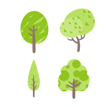 かわいい木たち