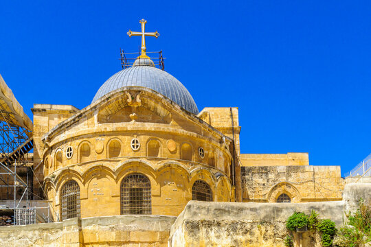 Dome of the Holy Sepulchre church, Jerusalem