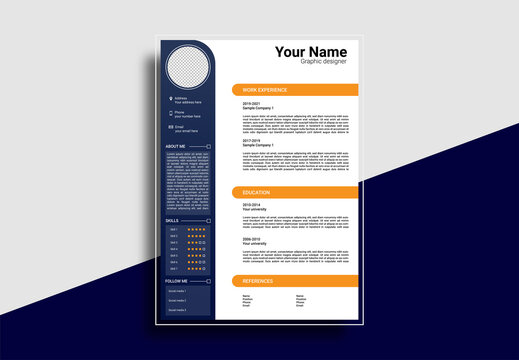 MODERN RESUME EDIT TEXT AS YOU LIKE FREE SCALE