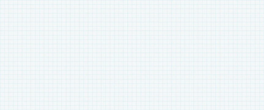 Graph Paper Technical Drawing Paper in Soft Blue