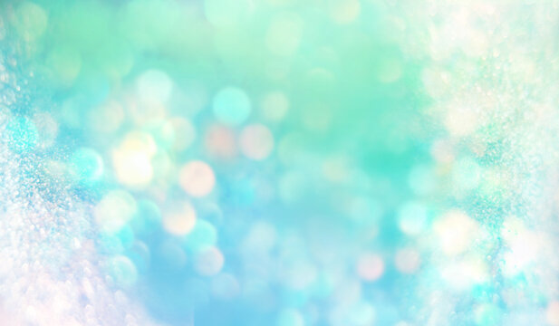 水色から新緑へ 泡 pale blue pale green gradation