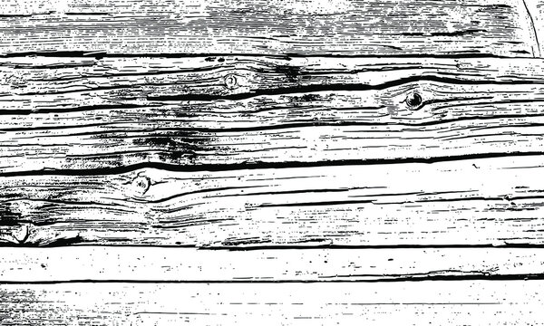 Rough black and white texture vector. Distressed overlay texture. Grunge background. Abstract textured effect. Vector Illustration