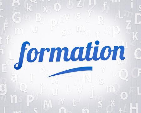 mot en français : formation (CPF, compte personnel de formation)