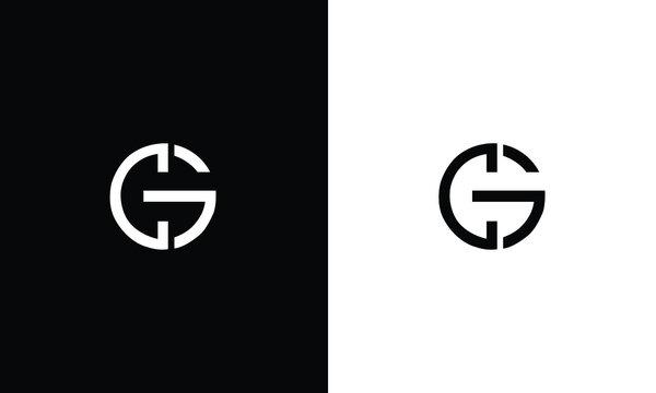 Alphabet letters Initials Monogram logo CG, GC, C and G