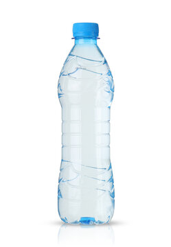 small plastic bottle with water