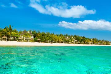 Le Morne coast, Mauritius Island