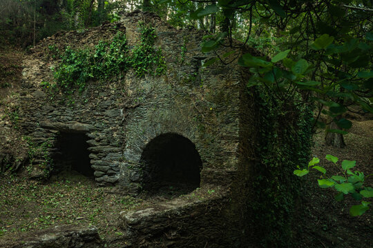 Old mills near Lourido river